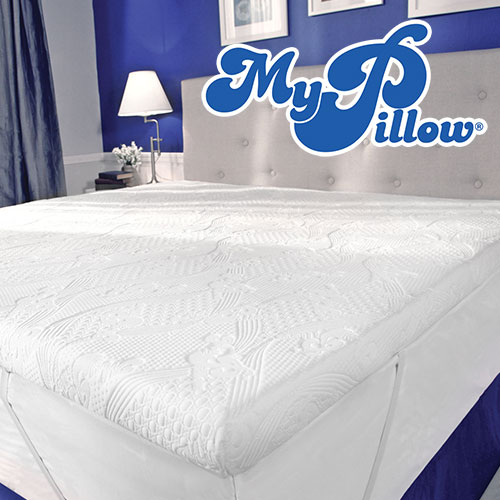 My Pillow Memory Foam Mattress Topper