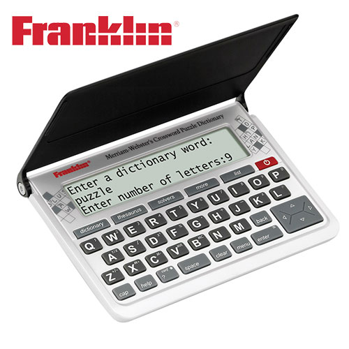 'Franklin Crossword Solver Electronic Dictionary'