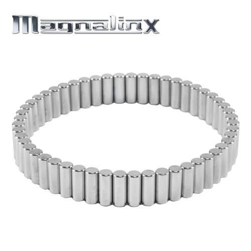 'Silver Magnalinx Magnet Bracelet'