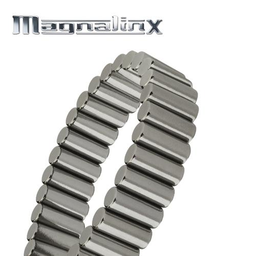 'Gunmetal Magnalinx Magnet Bracelet'