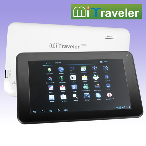 'MiTraveler 7 inch Android Tablet'