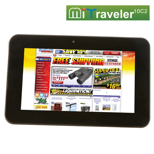 MiTraveler Dual Core Tablet
