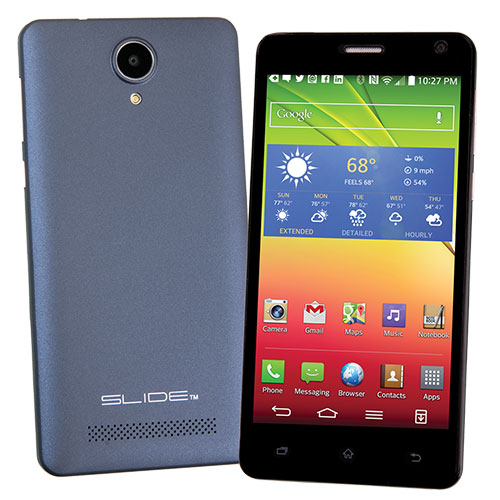 Blue Slide 3G Smart Phone