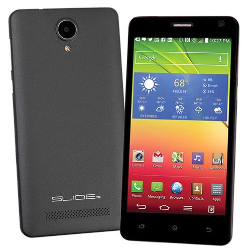 Black Slide 3G Smart Phone