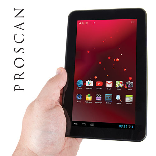 Proscan 7IN Tablet with Keyboard and Case