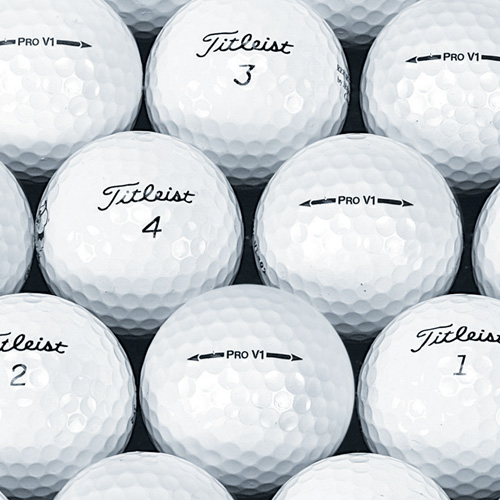 '24 Pack Recycled Pro V1/ V1X Golf Balls'