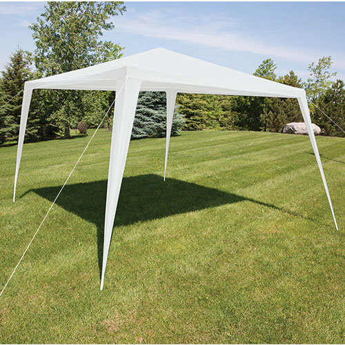 '10' x 10' Alpine Sports Canopy Tent Party Shade Gazebo - White'