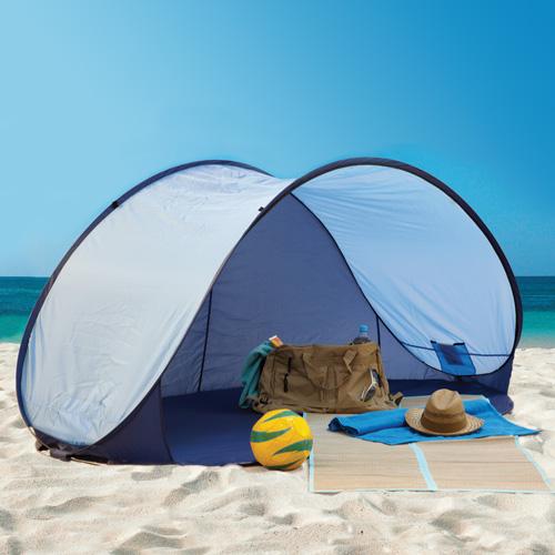 'Pop-Up Beach Cabana - Blue'