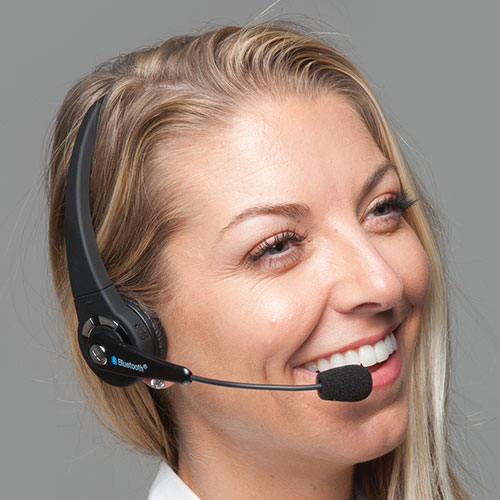 'Universal Over-The-Head Bluetooth Headset'