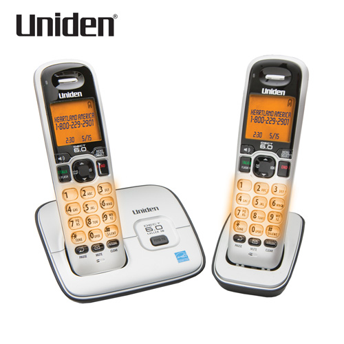 'Uniden 2-Handset Cordless Phone'