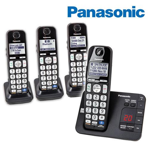'Panasonic 4 Handset Phone System'