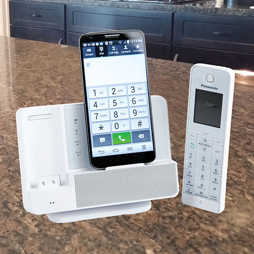 Panasonic Digital Phone - White