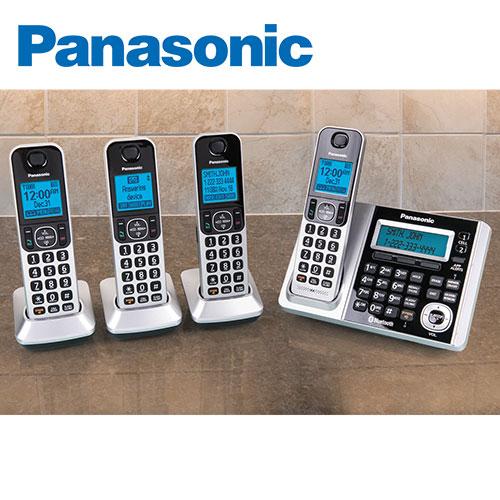 Panasonic 4-Handset Social Media System