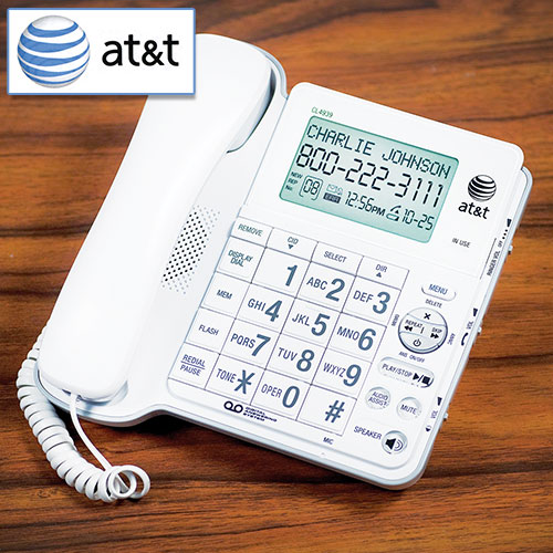 AT&T Audio Assist Corded Phone