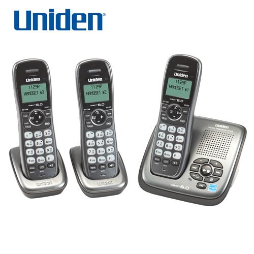 uniden dect 6.0 3 handset cordless phone manual