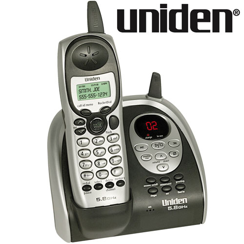 uniden cordless phone with answering machine manual