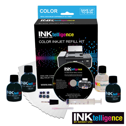 'Universal Ink Refill Kit - Color'