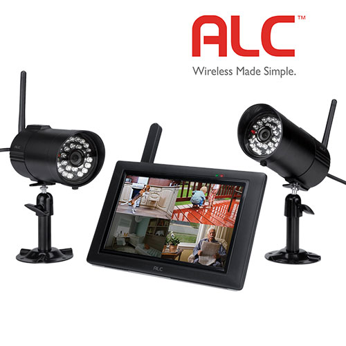 'ALC 2 Camera Monitor Security System'