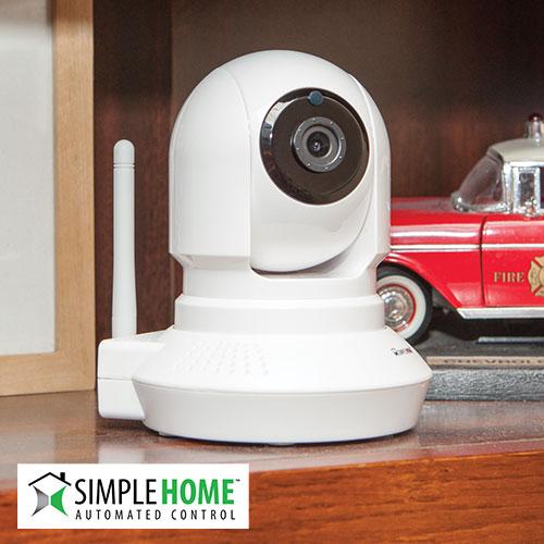 'WiFi Camera with Pan and Tilt'
