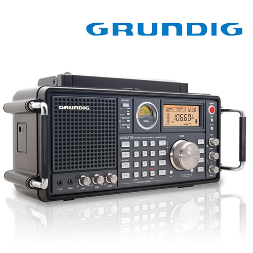 'Grundig Satellite  750 with Antenna'