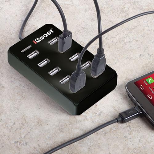 'USB Smart Hub with Charger'