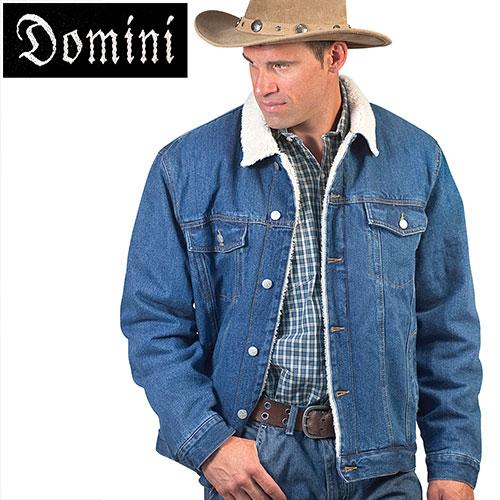 'Sherpa Lined Denim Jacket'