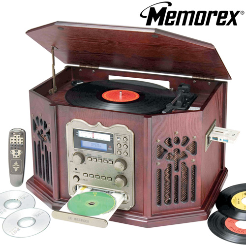 'Memorex Nostalgia Stereo With CD Recorder'