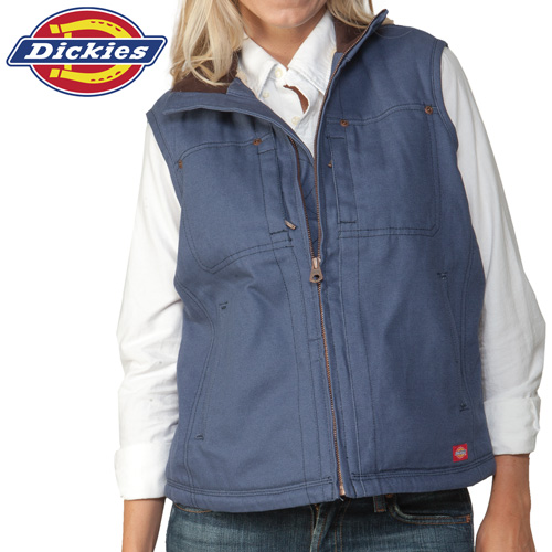 'Dickies Womens Vest - Blue'