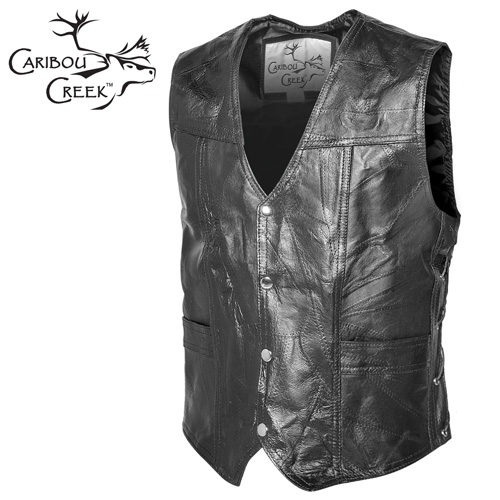 'Classic Leather Vest'
