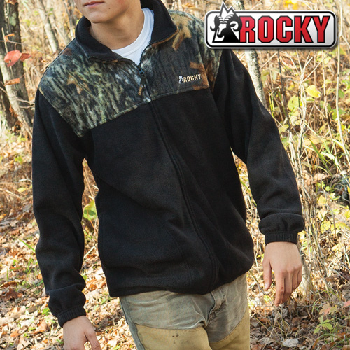 'Rocky Camo Fleece Jacket'