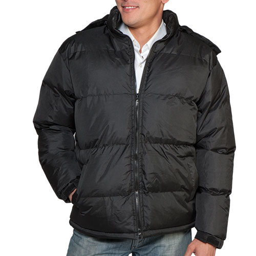 'Bubble Jacket - Black'