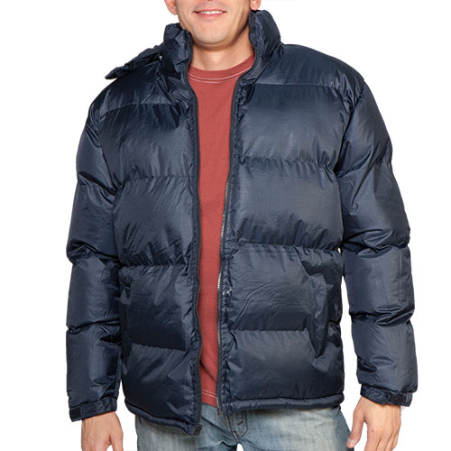 'Bubble Jacket - Navy'