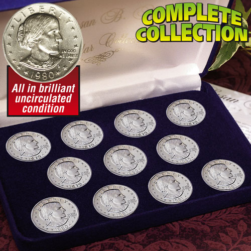 'Susan B. Anthony Dollar Collection'