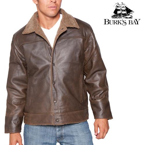'Burk's Bay Genuine Leather Jacket'