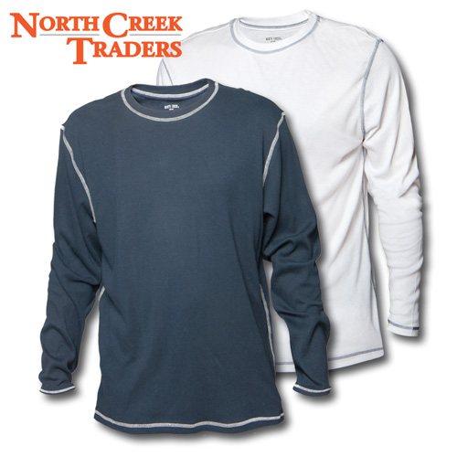 'North Creek Traders Long-Sleeve Shirts - 2 Pack'