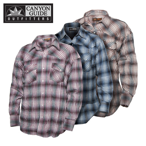 'Western Flannel Shirts - 3 Pack'