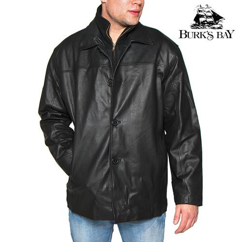 'Burks Bay Leather Coat'