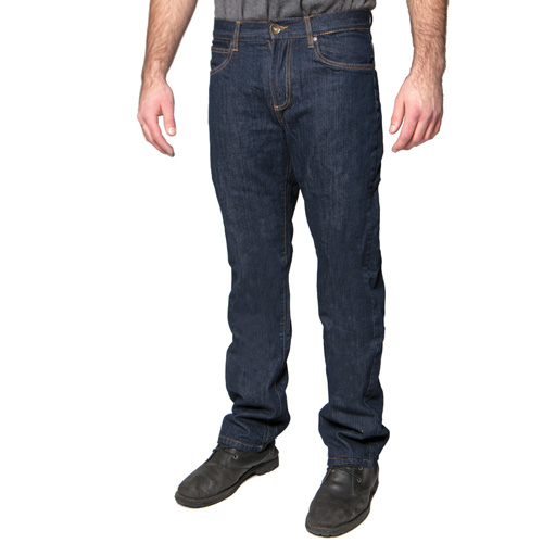 Lined Jeans - Dark Wash