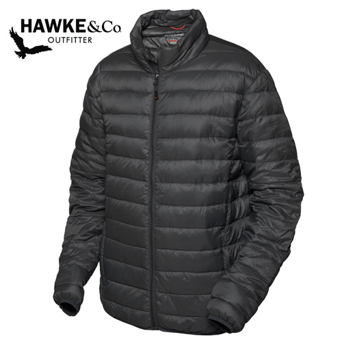 'Hawke & Co. Down Puffer Jacket - Black'