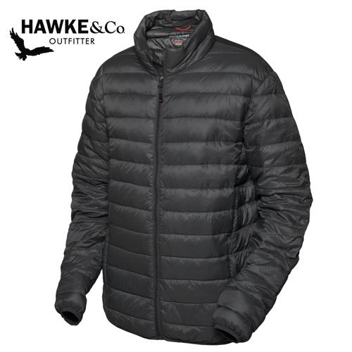 'Hawke & Co. Down Puffer Jacket - Black'