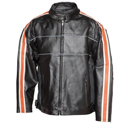 'Leather Motorcycle Jacket'