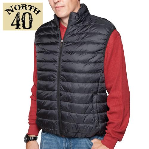 'Men's Black Puffer Vest'