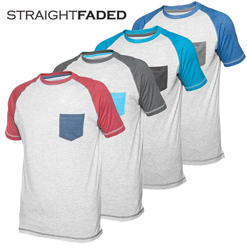 'Raglan Color Block Tees'