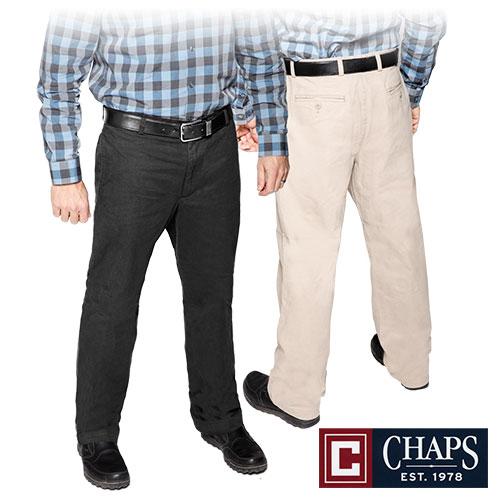 'Chaps Cotton Pants'