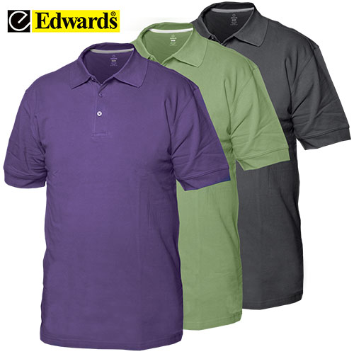 '3-Pack Pique Polo Shirts'