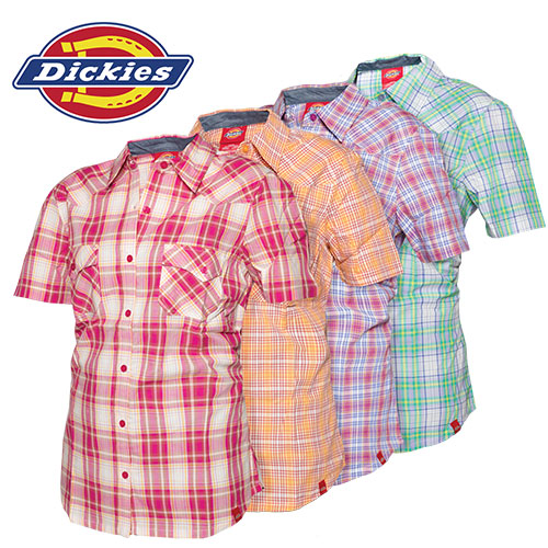 Dickies Short Sleeve Plaids
