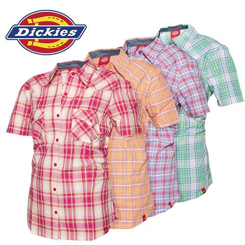 'Dickies Short Sleeve Plaids'