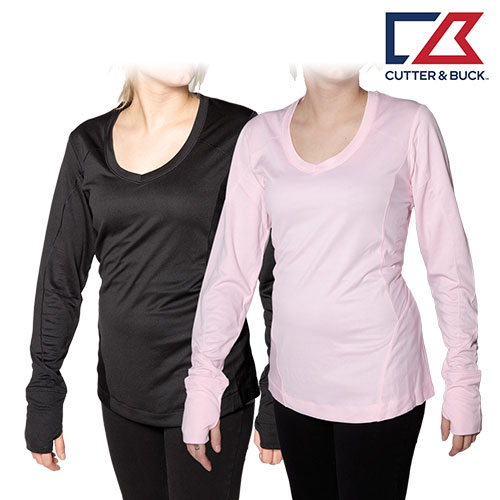 2-Pack Cutter and Buck Long Sleeve Active Shirts