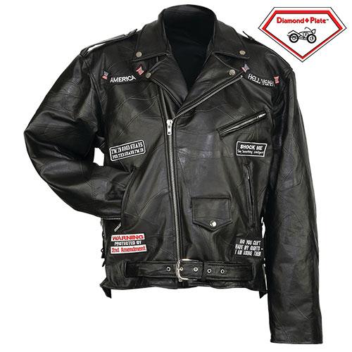 'Hell Yeah Motorcycle Jacket'