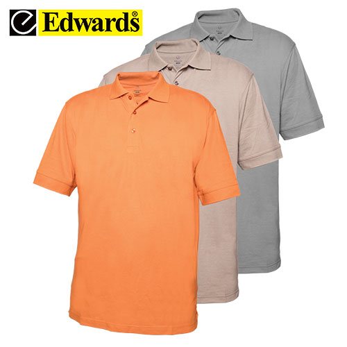 '3 Pack Color Polos'